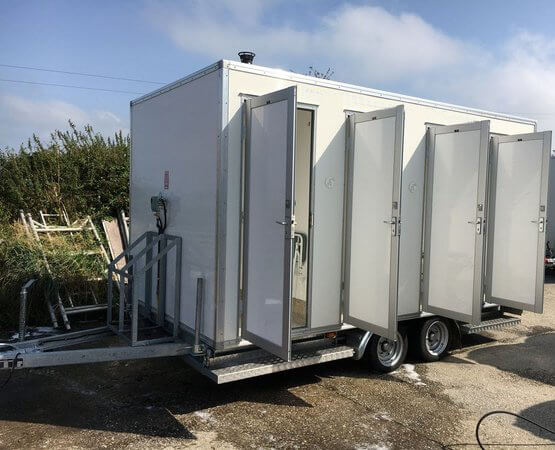 at portable toilet company we now also specialise in the hire of luxury mobile showers all our mobile showers are gas powered and are great for all sorts